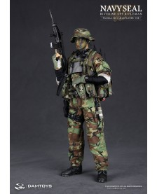 NAVY SEAL RIVERINE OPS RIFLEMAN (WOODLAND CAMOUFLAGER VER)